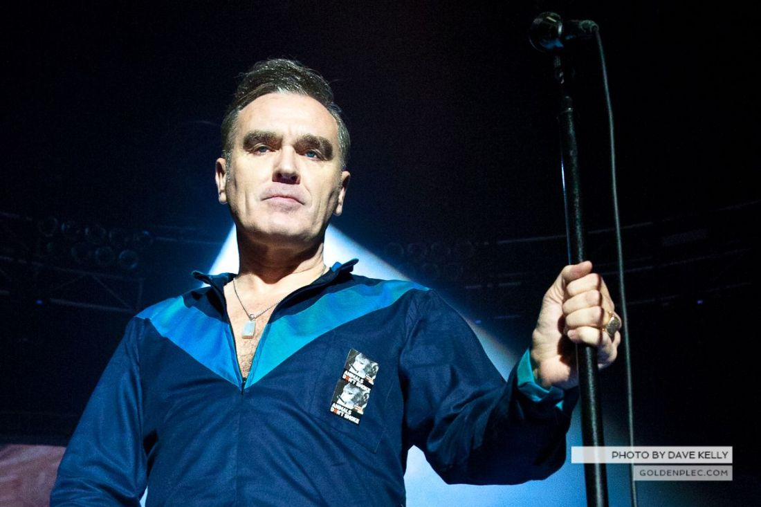 Morrissey at The 3 Arena, Dublin, 1 December 2014 (2 of 52)