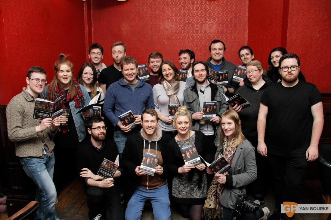 People at GoldenPlec Magazine Launch