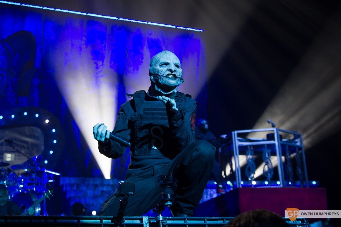 Slipknot at The 3Arena by Owen Humphreys (14 of 19)