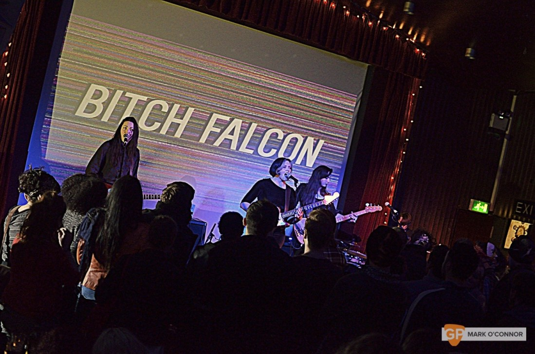 DO NOT USE –  Bitch Falcon in The Sugar Club by Mark O' Connor