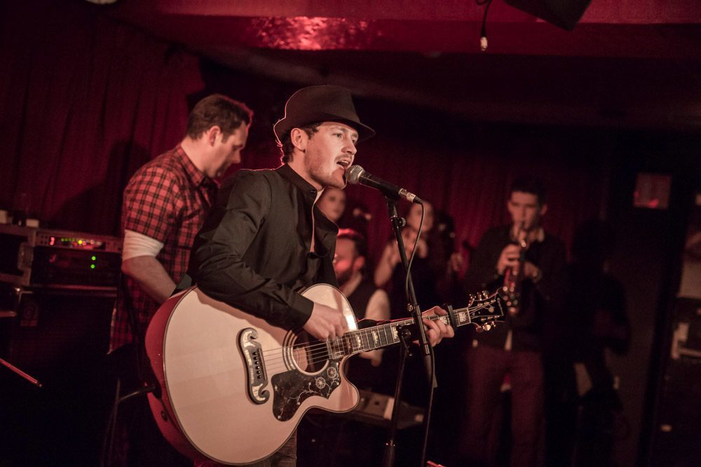 Midnight Union Band at Whelans by John Gillesse