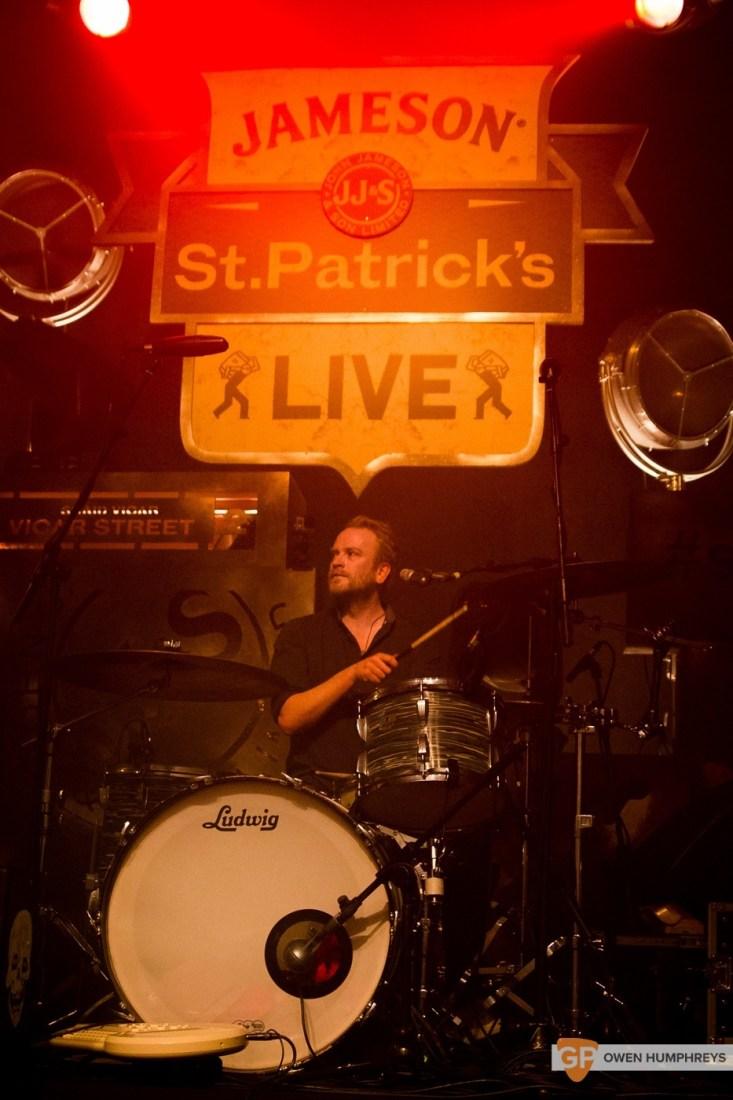 Delorentis at Jameson St. Patrick's Day Live at Vicar Street by Owen Humphreys (6 of 10)