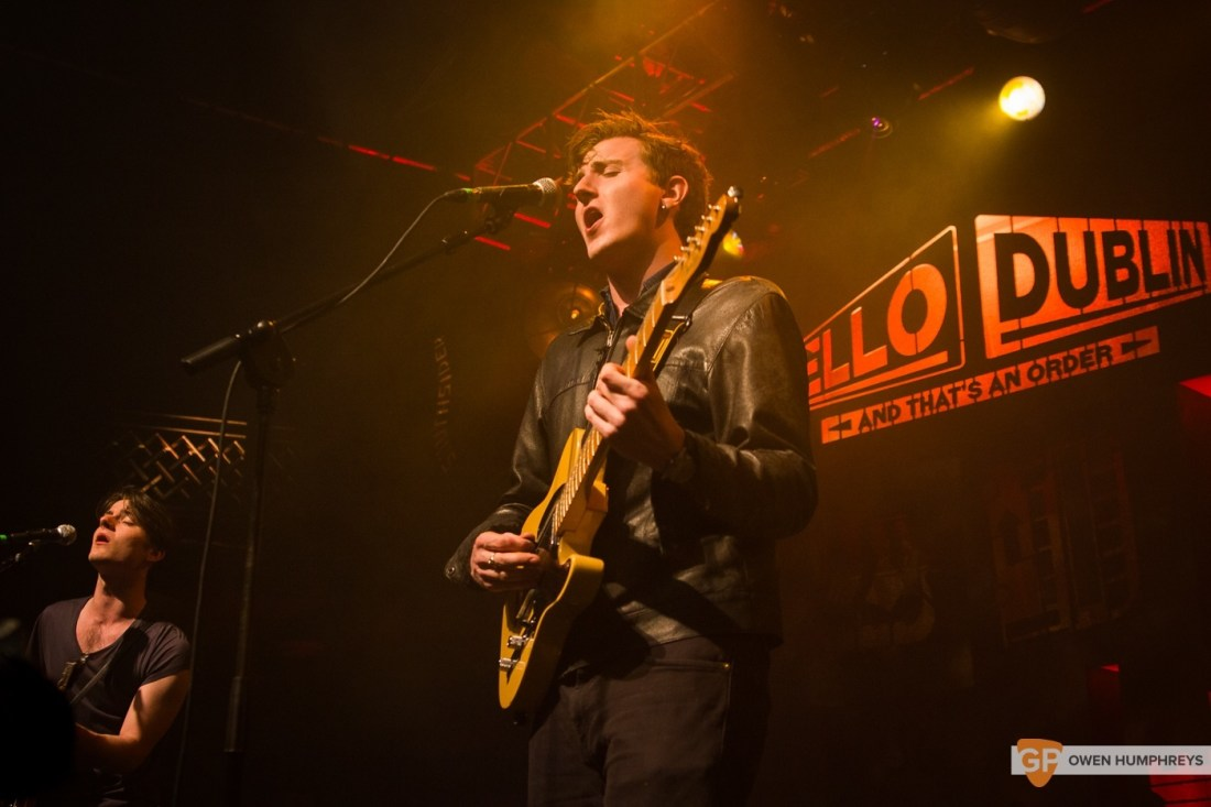 Little Green Cars at Jameson St. Patrick's Day Live at Vicar Street by Owen Humphreys (13 of 14)