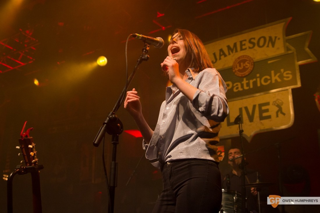 Little Green Cars at Jameson St. Patrick's Day Live at Vicar Street by Owen Humphreys (6 of 14)