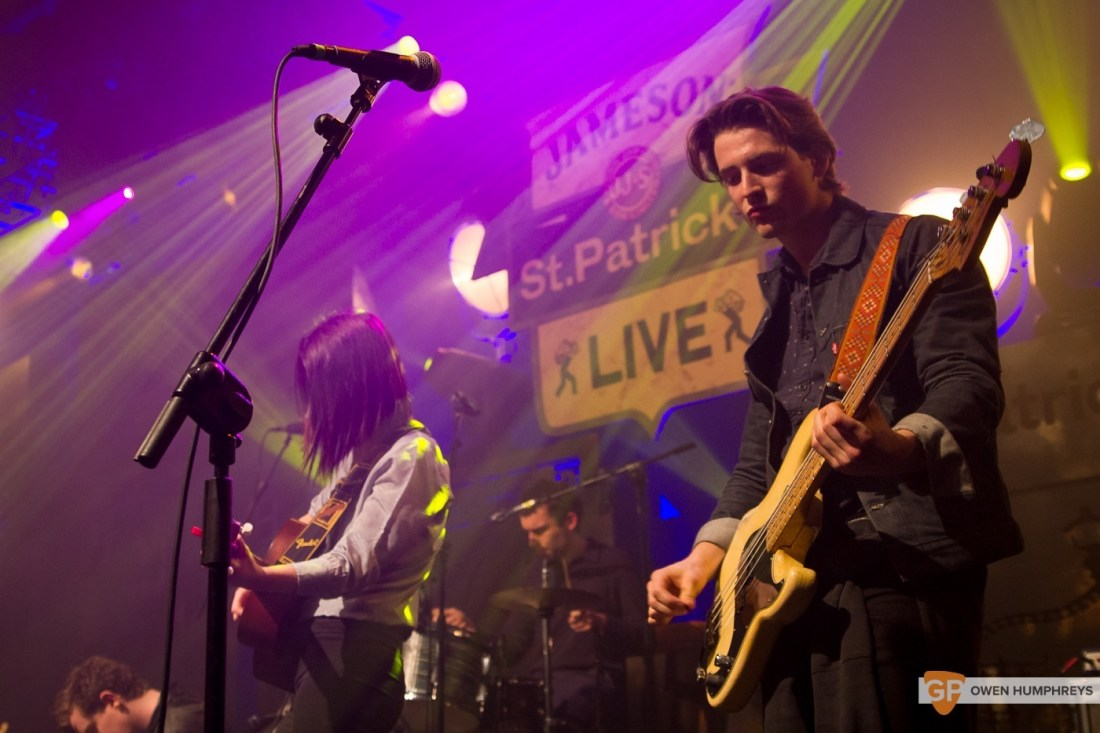 Little Green Cars at Jameson St. Patrick's Day Live at Vicar Street by Owen Humphreys (8 of 14)