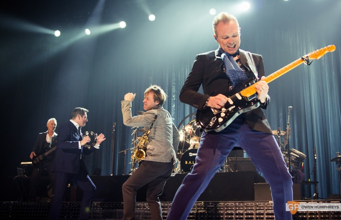 Spandau Ballet at The 3Arena by Owen Humphreys (13 of 13)