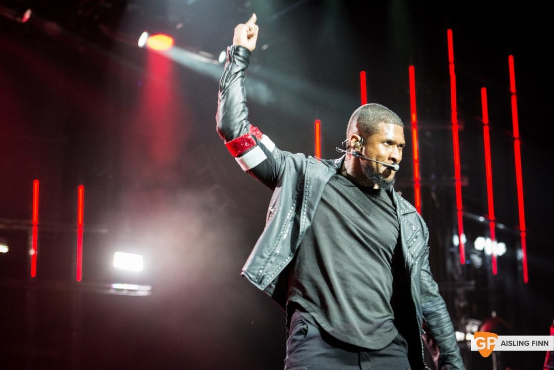 USHER at THE 3 ARENA by AISLING FINN (10)