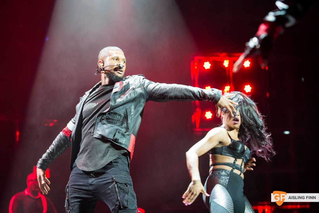 USHER at THE 3 ARENA by AISLING FINN (8)