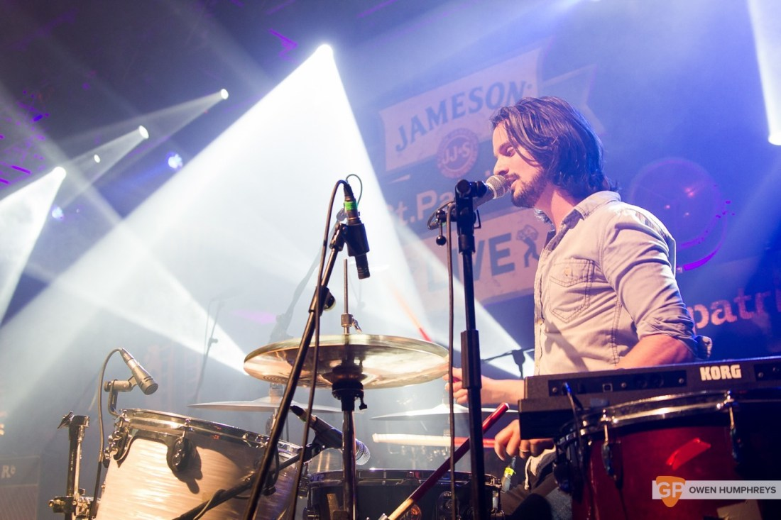 We Cut Corners at Jameson St. Patrick's Day Live at Vicar Street by Owen Humphreys (3 of 7)
