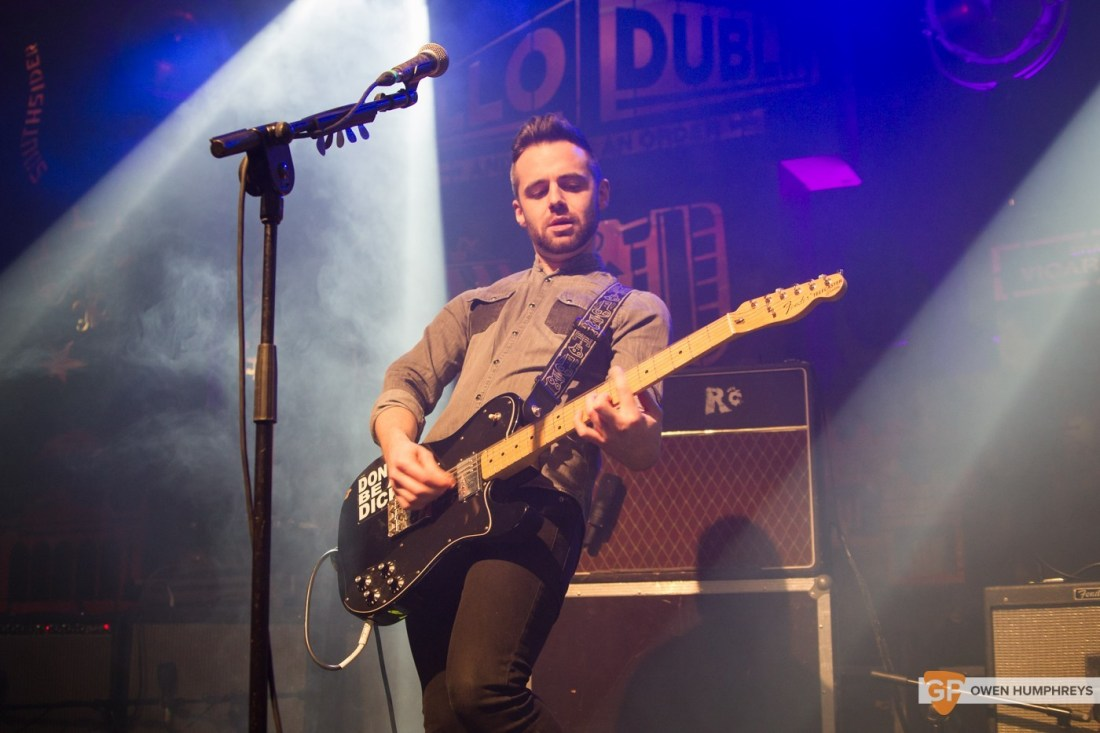 We Cut Corners at Jameson St. Patrick's Day Live at Vicar Street by Owen Humphreys (6 of 7)