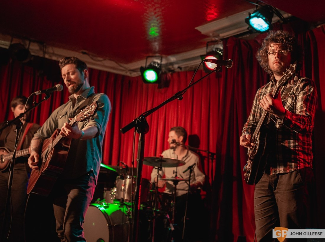 The Niall McCabe Band @ Whelans Upstairs by John Gilleese