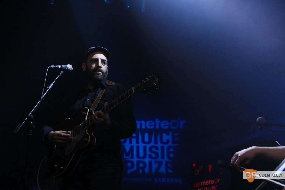 Adrian Crowley at Meteor Choice 10th Year gig by Colm Kelly