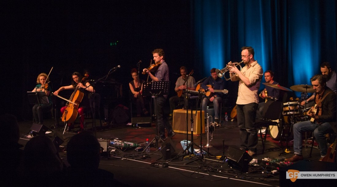 Colm Mac Con Iomaire at The Pavilion Theatre by Owen Humphreys (1 of 12)