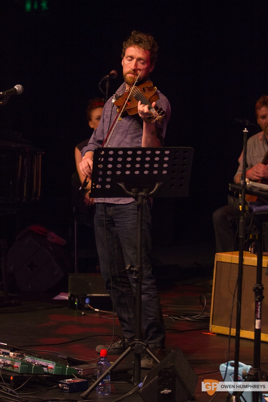 Colm Mac Con Iomaire at The Pavilion Theatre by Owen Humphreys (10 of 12)