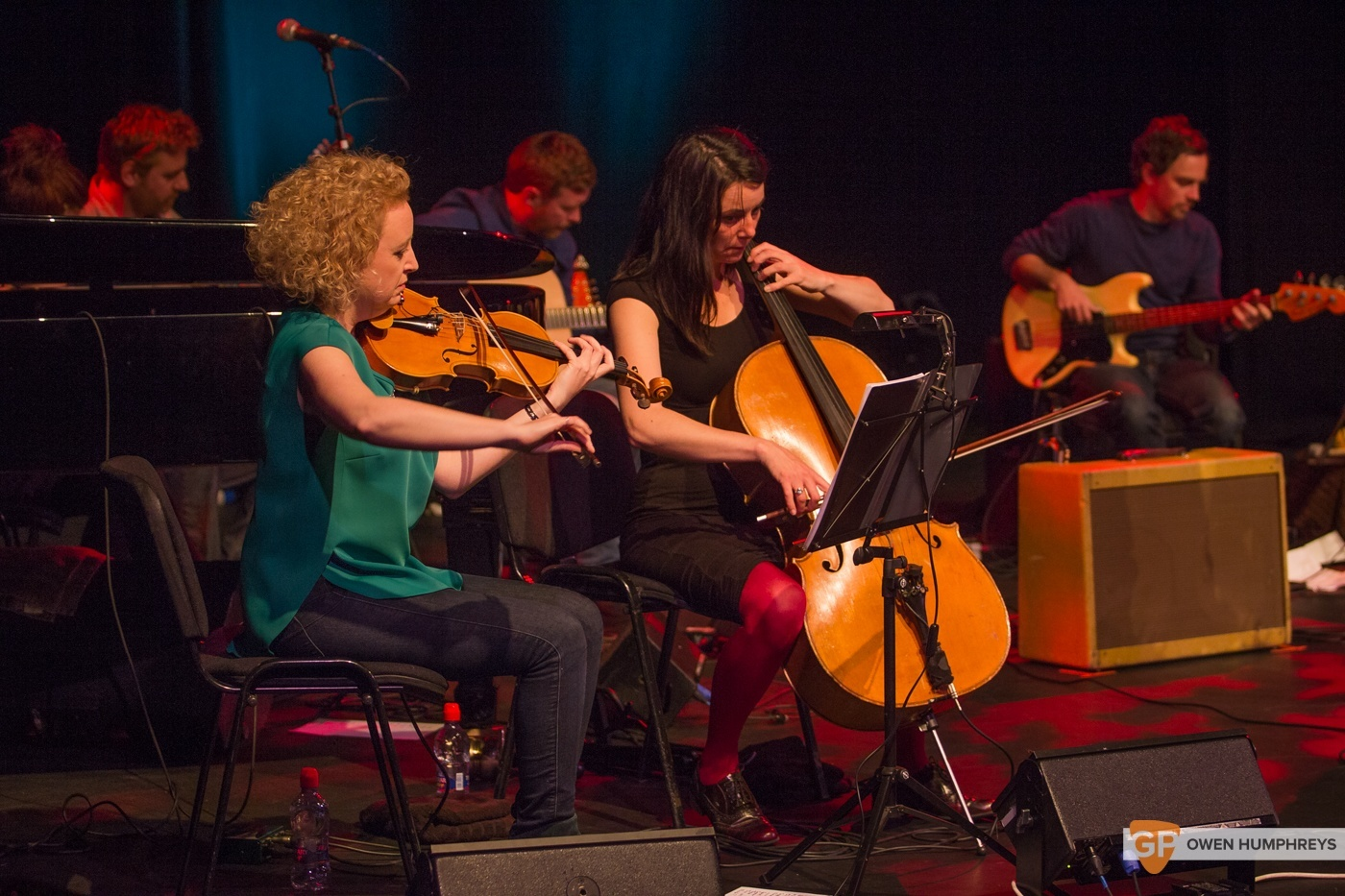 Colm Mac Con Iomaire at The Pavilion Theatre by Owen Humphreys (6 of 12)
