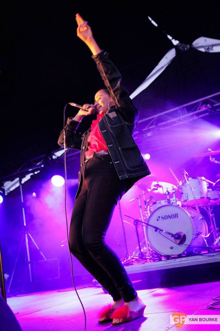 Fatima and the Eglo Live Band at Forbidden Fruit 2015 by Yan Bourke