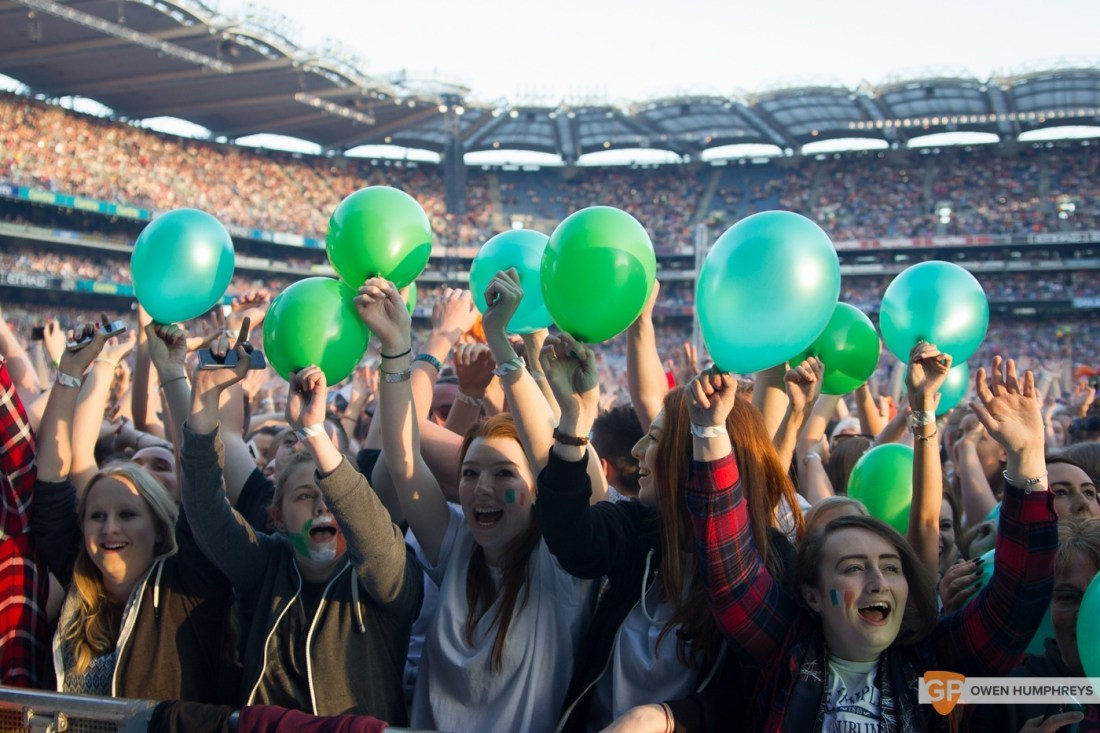 Crowd at Croke Park by Owen Humphreys (1 of 3)