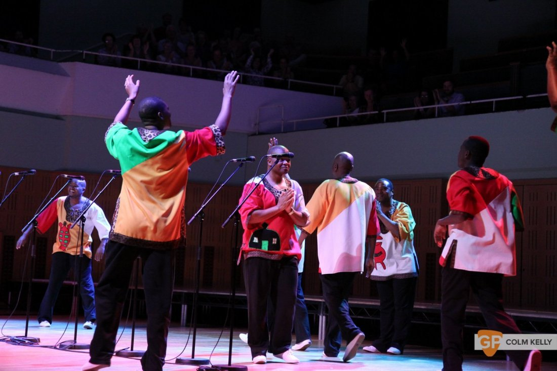 Ladysmith Black Mambazo at The National Concert Hall by Colm Kelly