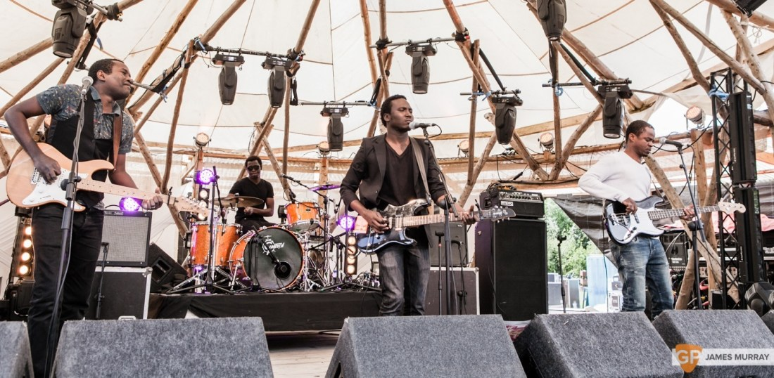 Songhoy Blues at Body & Soul 2015 by James Murray