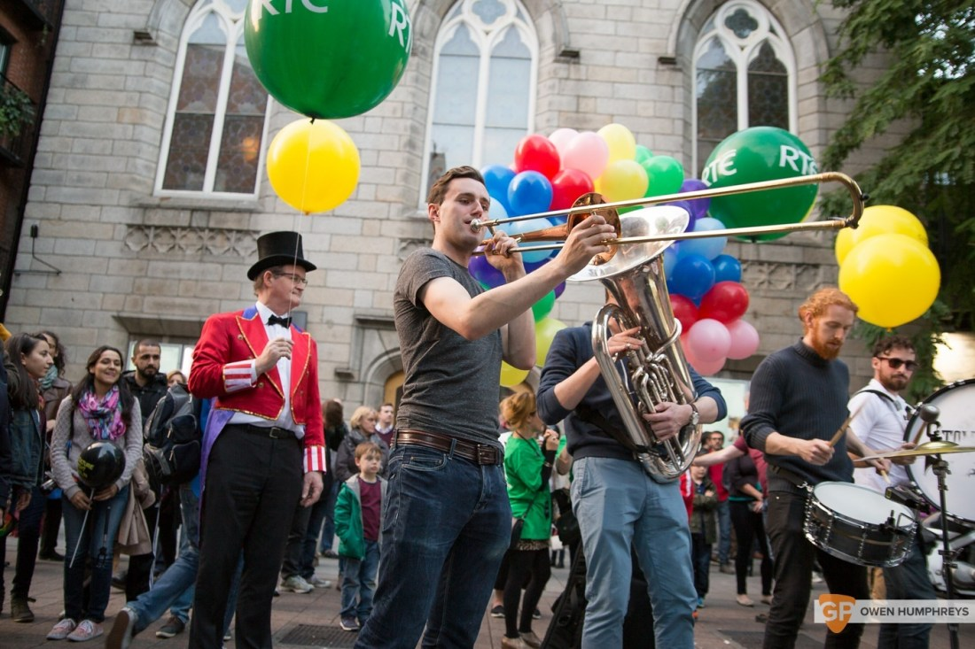 Stomptown Brass parade through Dublin (16 of 25)
