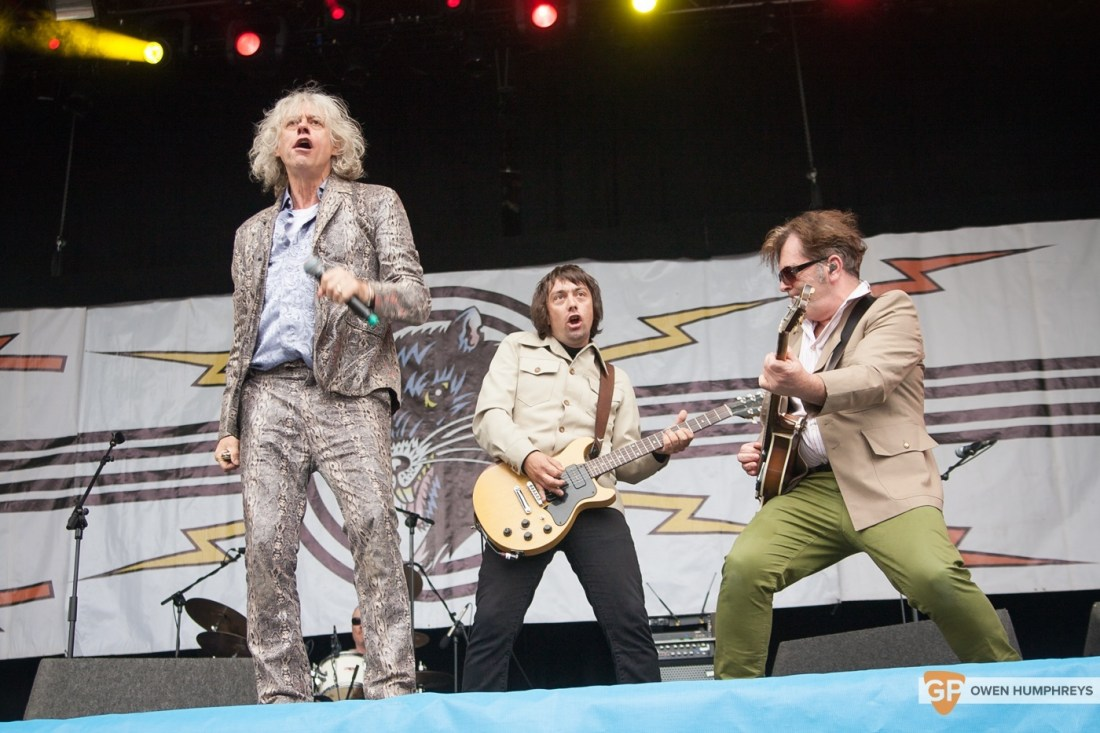 The Boomtown Rats at Electric Picnic 2015 by Owen Humphreys (2 of 5)