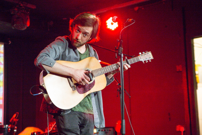 Patrick Freeman live at Hard Working Class Heroes 2015, photo by Owen Humphreys