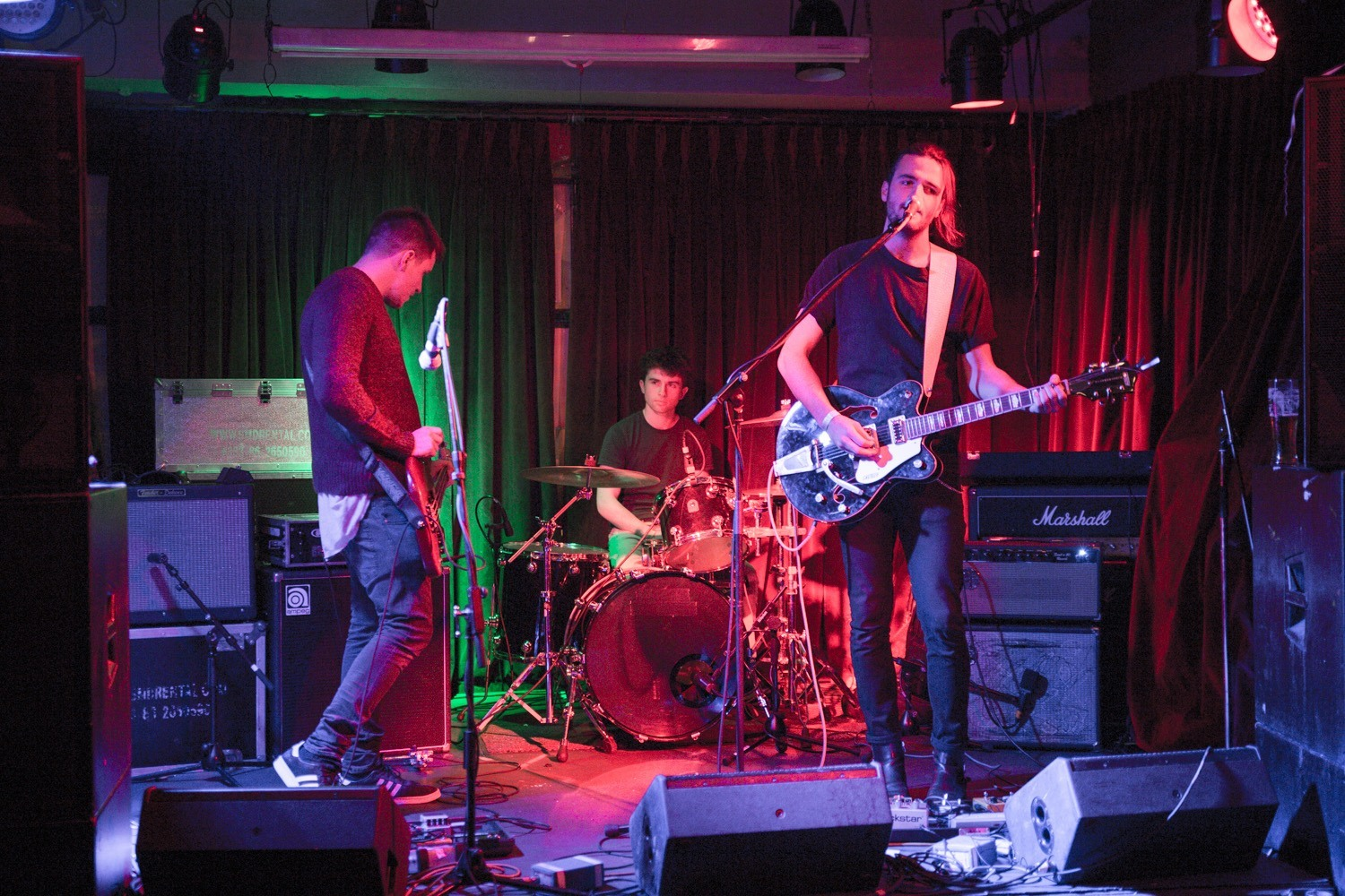 The Journal live at Hard Working Class Heroes 2015, photo by Owen Humphreys