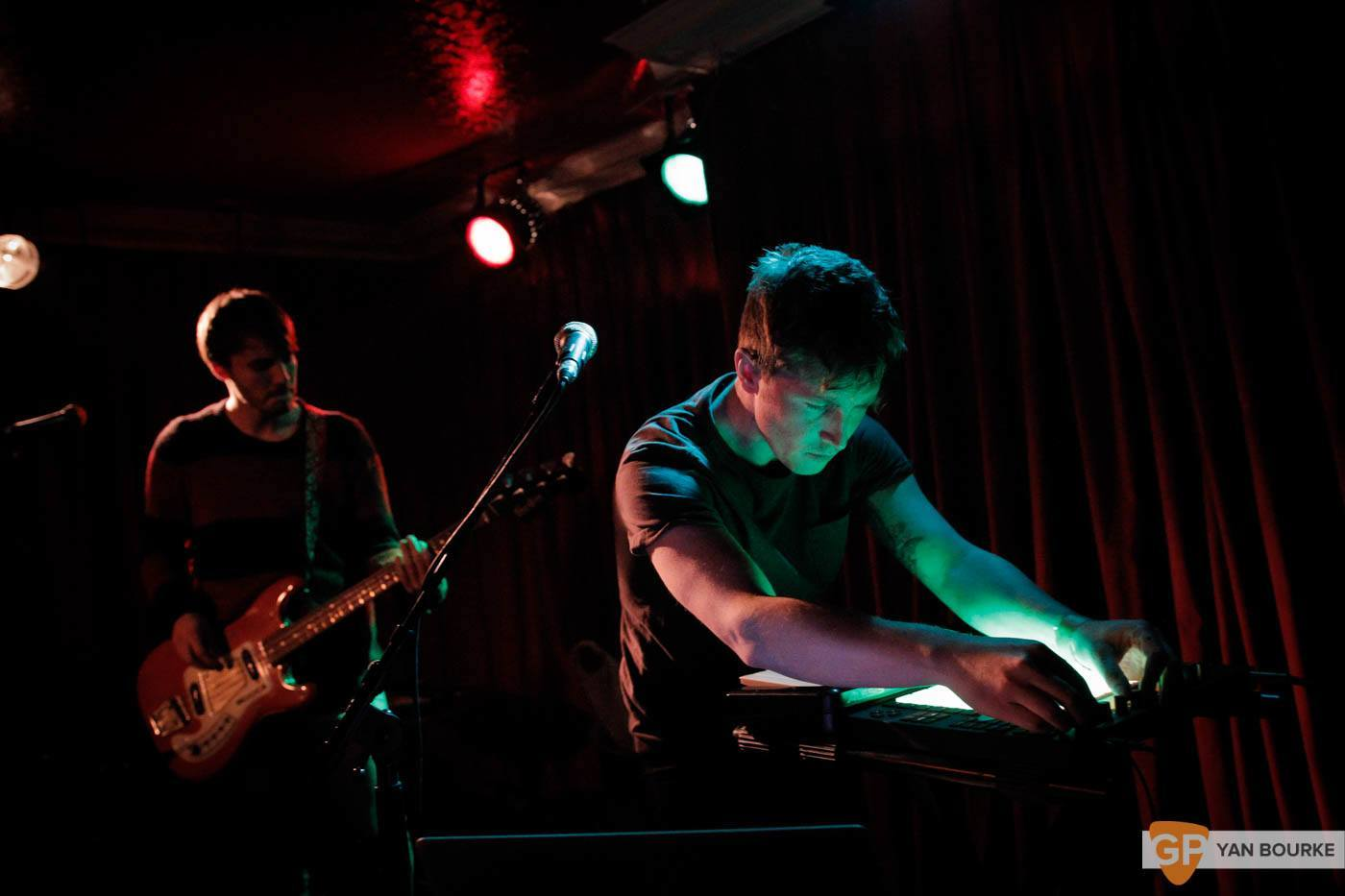 Le Boom Upstairs in Whelan's on 25 October 2015 by Yan Bourke