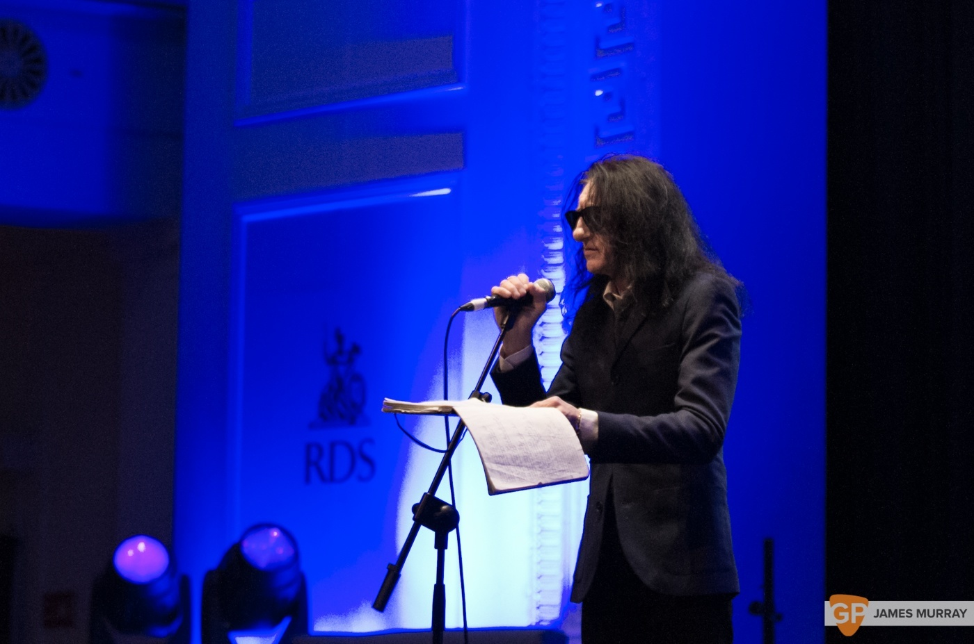 John Cooper Clarke at RDS by James Murray