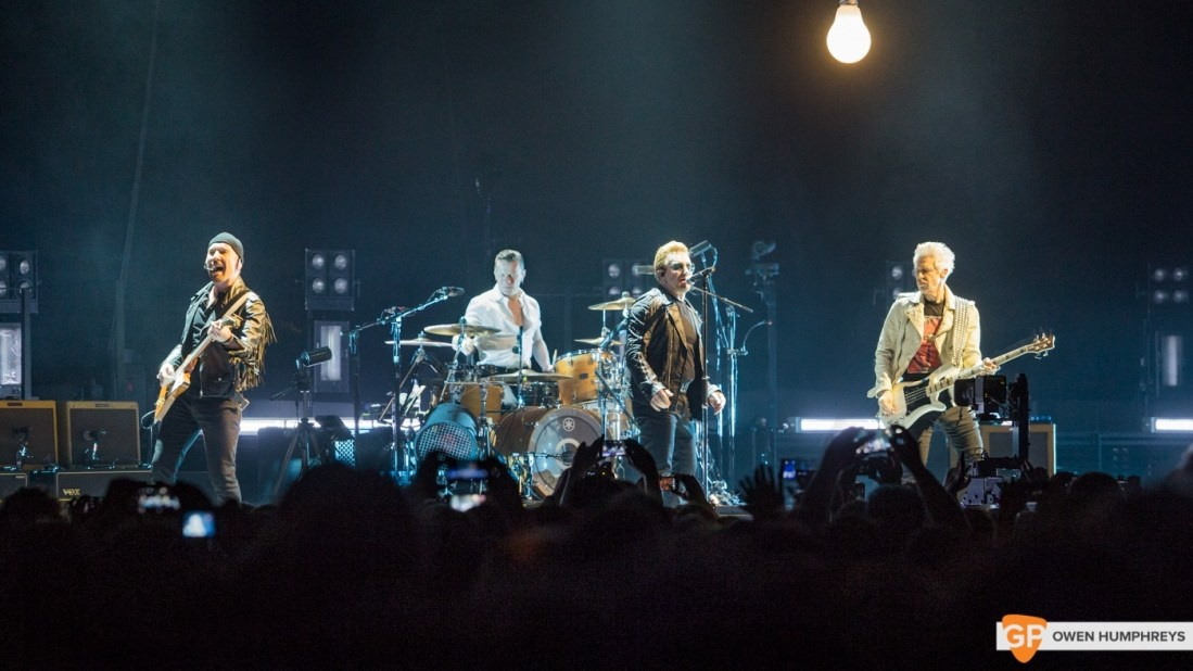 U2 Innocence and Experience tour at The 3Arena, Dublin by Owen Humphreys