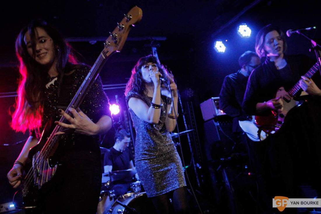 Bitch Falcon and Sleep Thieves in the Workman's Club on 18 December 2015 by Yan Bourke by Yan Bourke-1