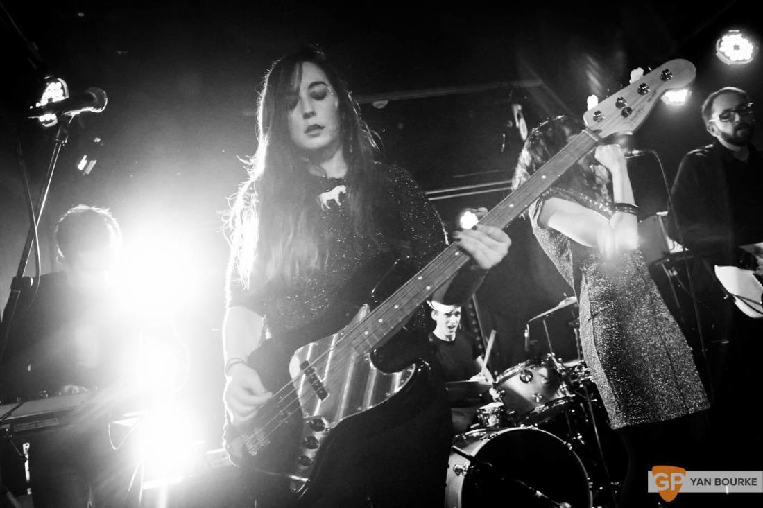 Bitch Falcon and Sleep Thieves in the Workman's Club on 18 December 2015 by Yan Bourke by Yan Bourke-5