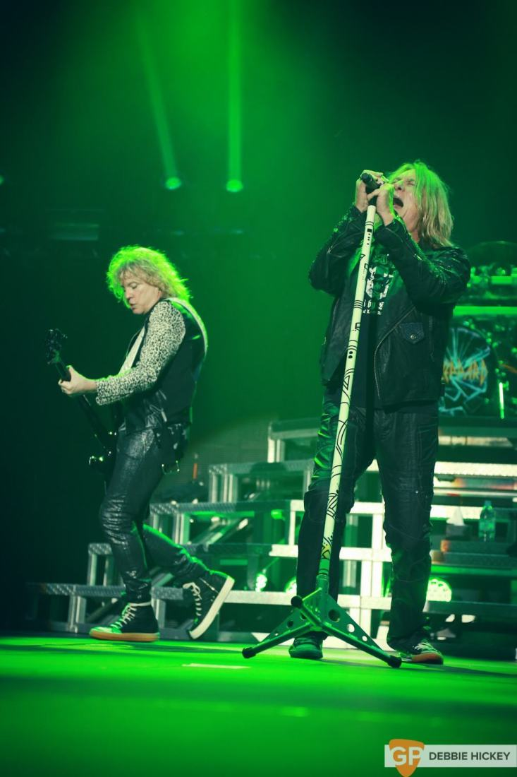 Def Leppard at 3Arena by Debbie Hickey