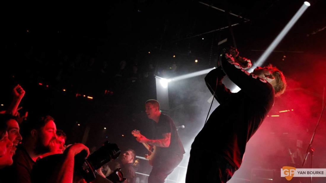 Frank Carter and the Rattlesnakes  in The Academy on 10 February 2016 by Yan Bourke-6