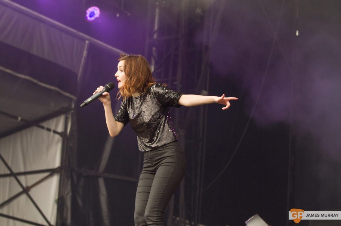 Chvrches at Longitude by James Murray