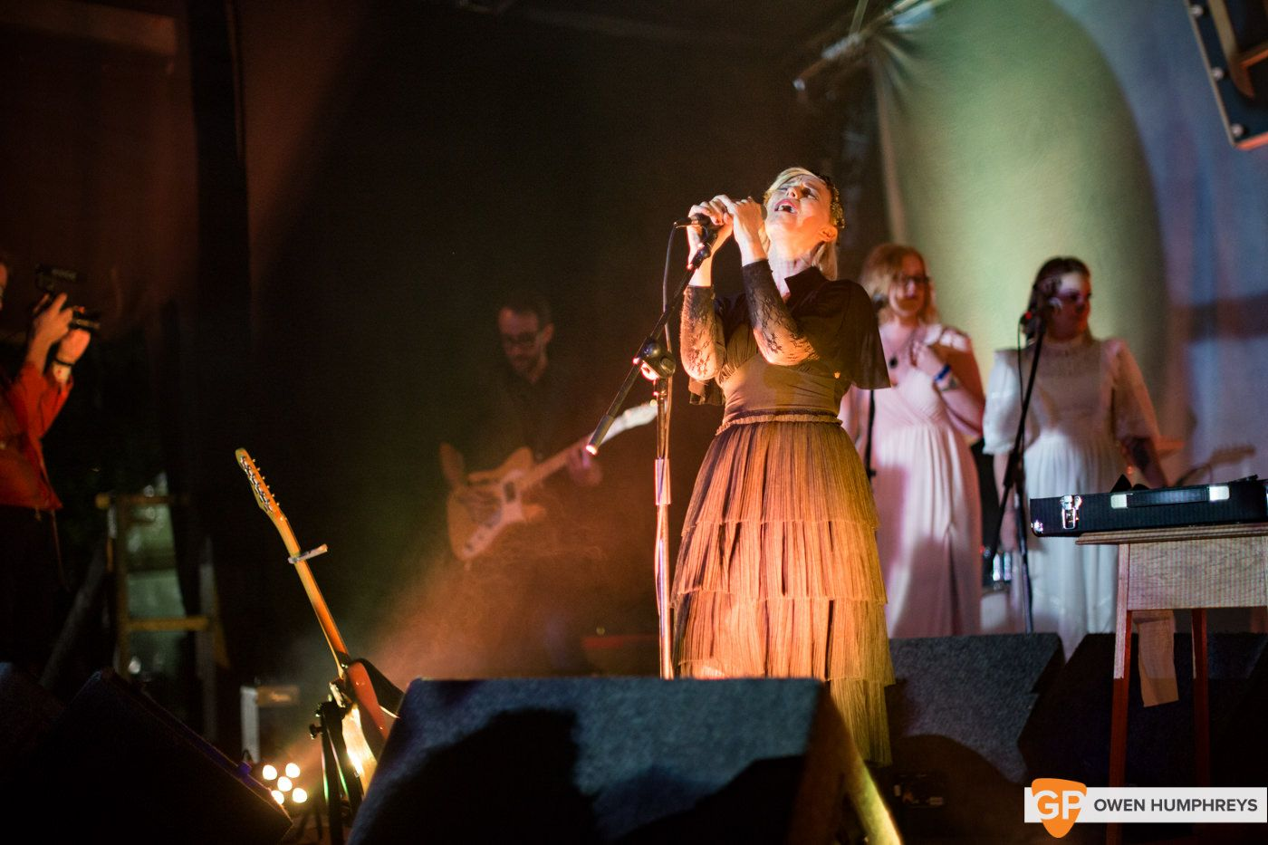 Cathy Davey at Electric Picnic by Owen Humphreys