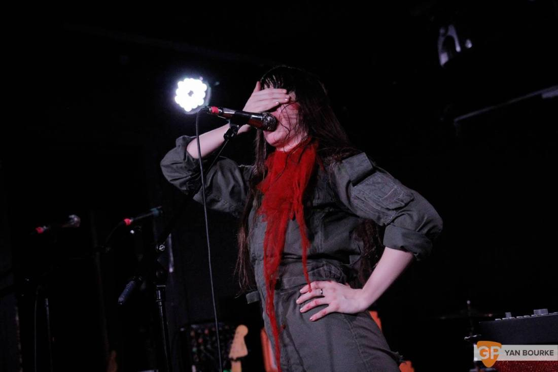 Le Butcherettes in The Workman's Club on 19 October 2016 by Yan Bourke