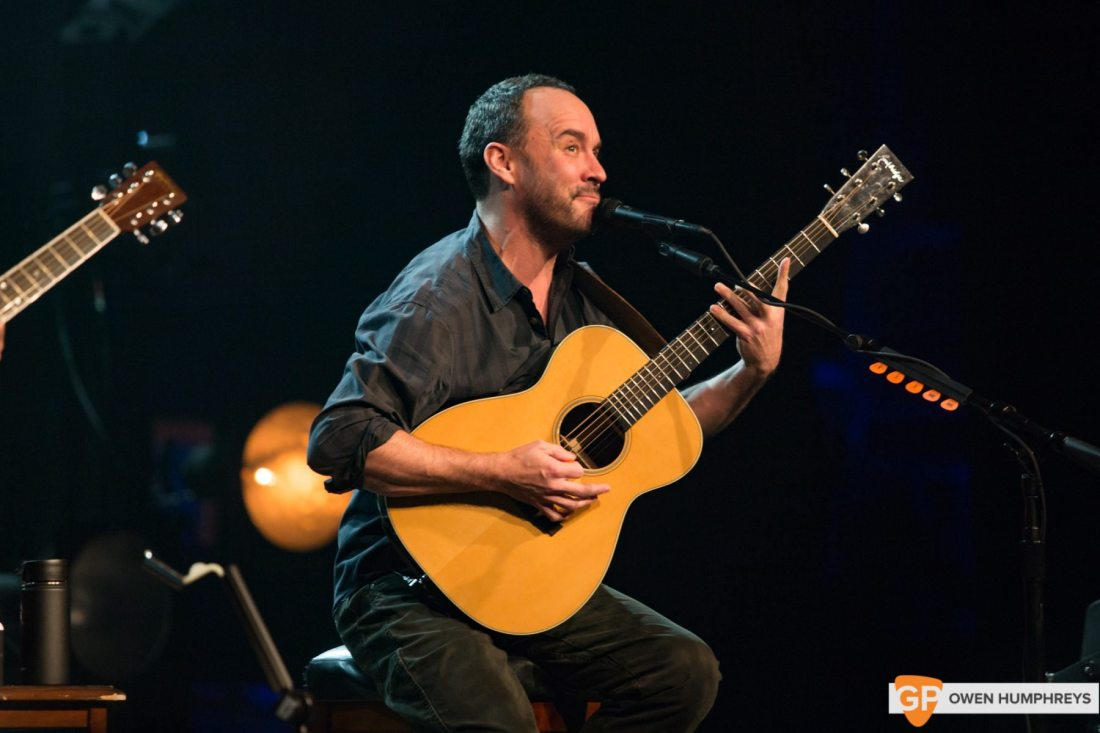 Dave Matthews and Tim Reynolds at The Olympia Theatre. Photo by Owen Humphreys