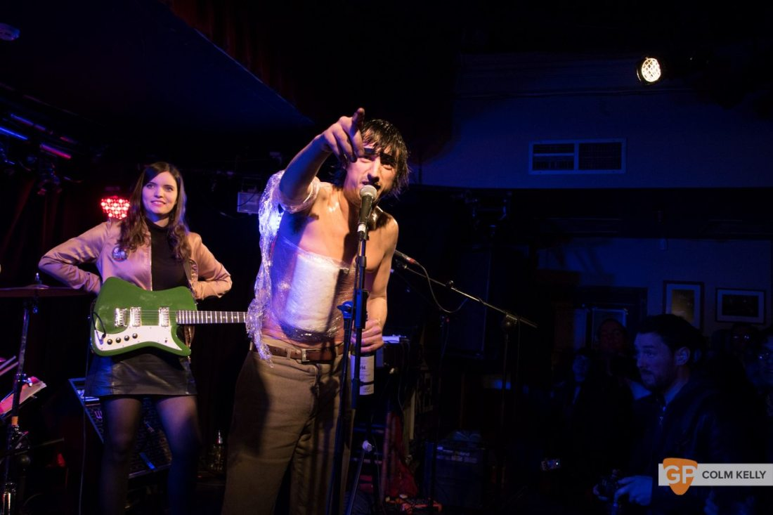 The Moonlandingz at Whelan's Dublin by Colm Kelly-1099