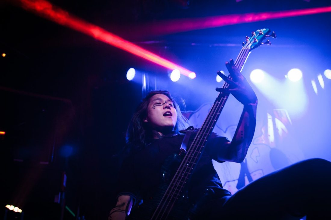 Crossfaith  in the Academy on 23 May 2017 by Yan Bourke