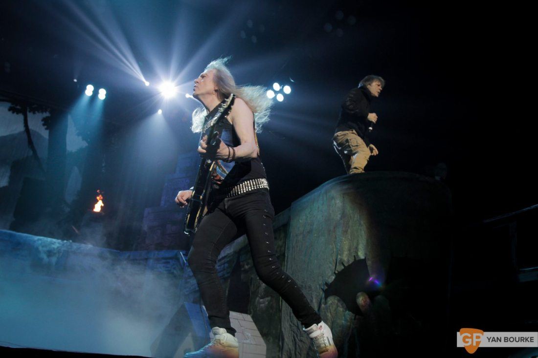 Iron Maiden at the 3Arena on 6 May 2017 by Yan Bourke