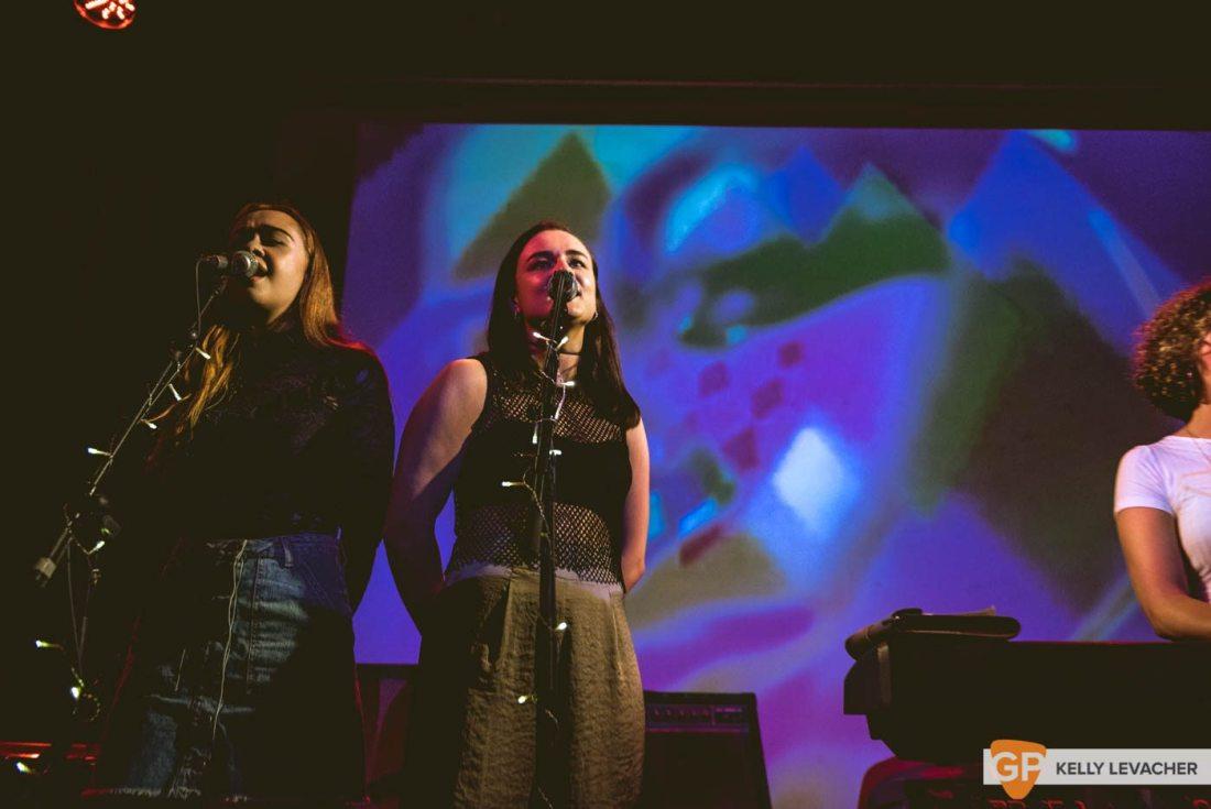 Loah (support Farah Elle) in The Sugar Club. Photos by Kelly Levacher