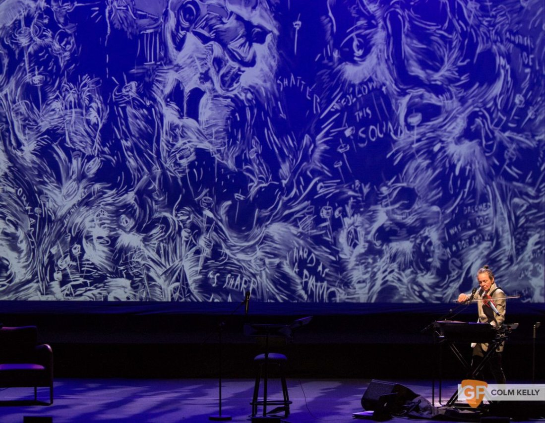 Laurie Anderson at The National Concert Hall Dublin by Colm Kelly-0044-3