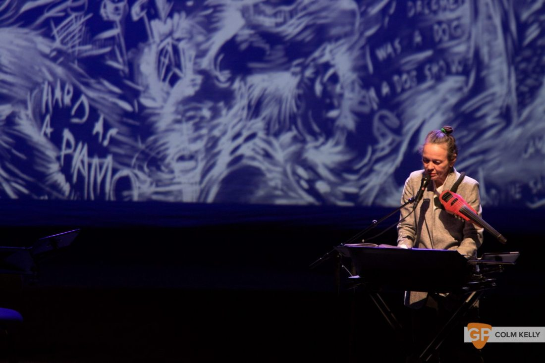 Laurie Anderson at The National Concert Hall Dublin by Colm Kelly-0046