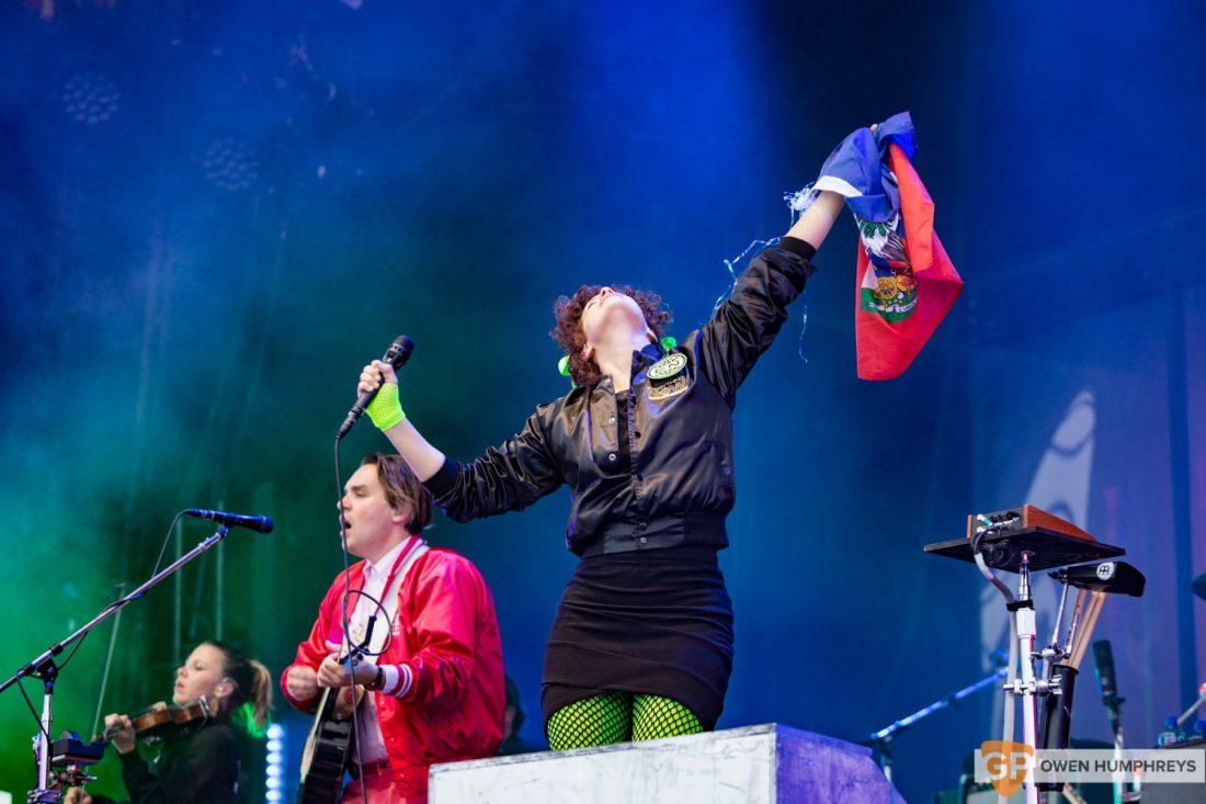 Arcade Fire at Malahide Castle. Photo by Owen Humphreys www.owenhumphreys.com