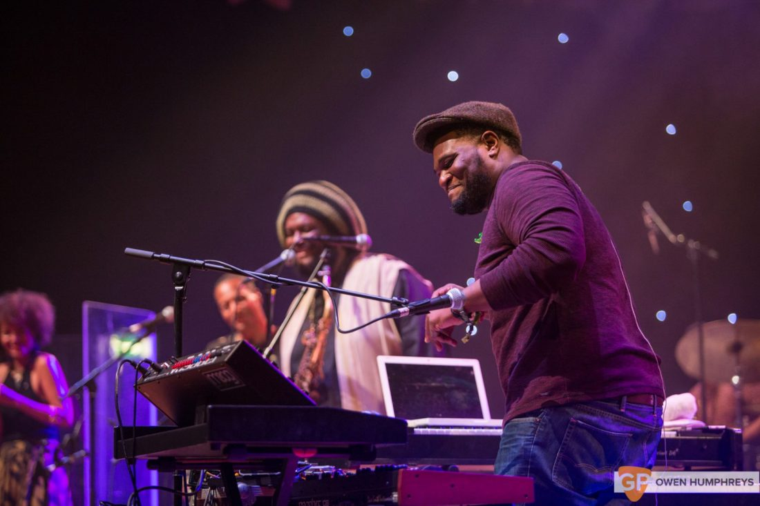 Kamasi Washington at The National Concert Hall by Owen Humphreys (5 of 17)