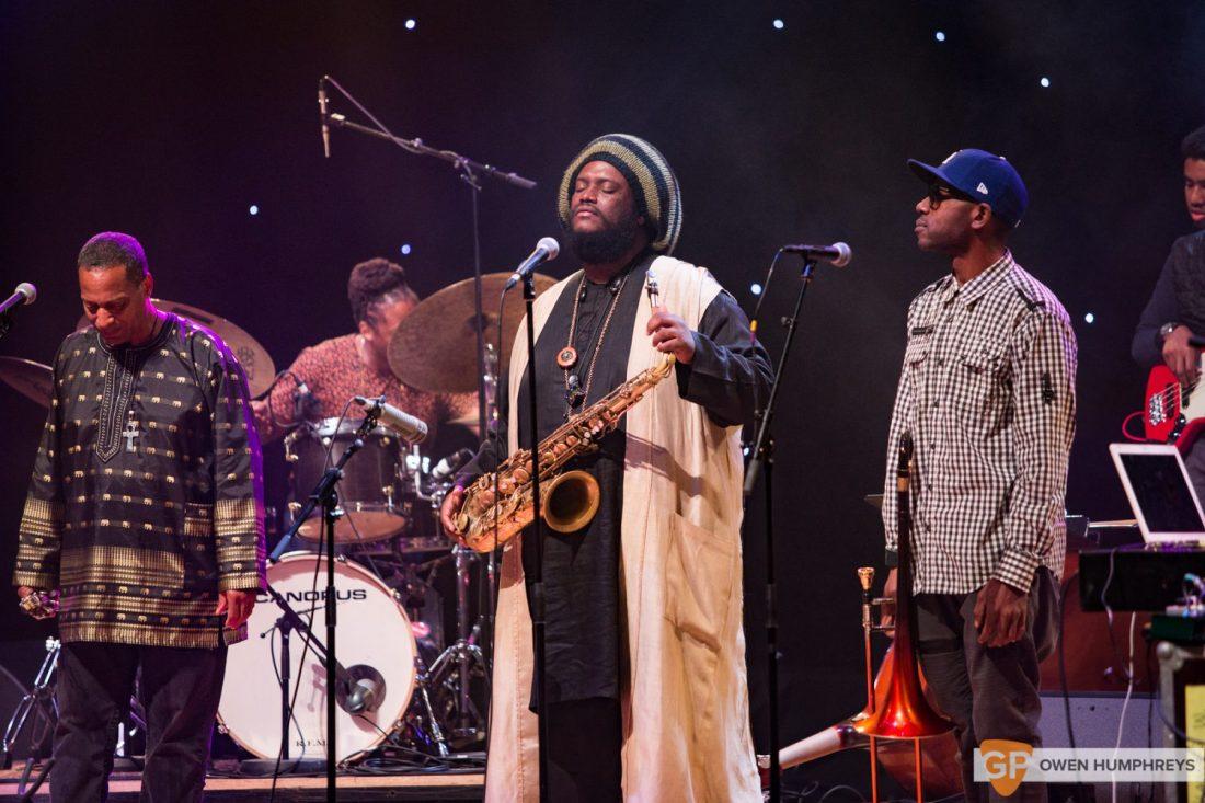 Kamasi Washington at The National Concert Hall by Owen Humphreys (6 of 17)