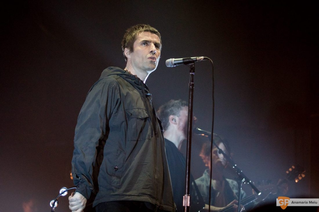 Liam Gallagher at Olympia Theatre by Anamaria Meiu