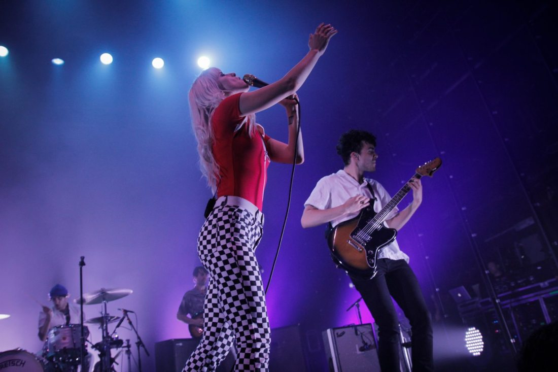 Paramore at the Olympia on 15 June 2017 by Yan Bourke