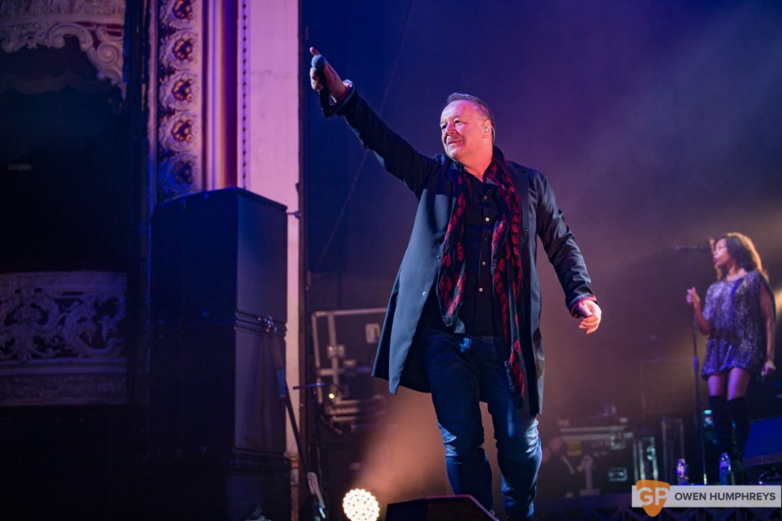 Simple Minds at The Olympia Theatre by Owen Humphreys (1 of 15)